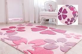 kinderzimmer teppich rund kinderteppich spielteppich kinderzimmer pink blumen rosa teppich