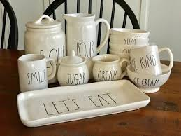 rae dunn mug where to find rae dunn and items like rae dunn love from the oven