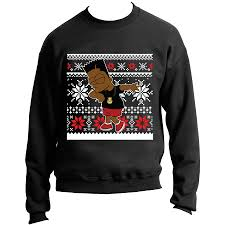 bart sweater the simpsons inspired dabbing bart sweater cap swag