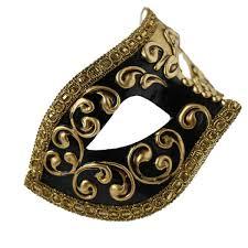 black venetian mask colombina black gold venetian mask masquerade express