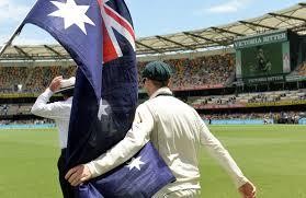 Cricket Flags Advantage Australia At Gabba Fortress Cricket Com Au