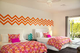 wall decals patterns color the walls of your house wall decals patterns wall decals chevron geometric pattern mural by wallstargraphics