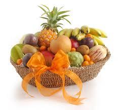 Fruit Basket And Tropical Fruit Basket