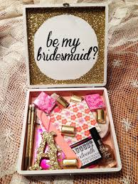 asking bridesmaid ideas creative delightful ideas on how to ask your to be your