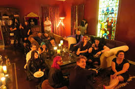 samhain moon the iamx dinner party in los angeles