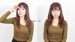 english subtitles hairstyle for small face youtube