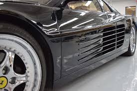 ferrari grill 1990 ferrari testarossa auto museum exhibit newport ri