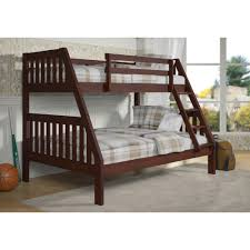 Donco Bunk Bed Cappuccino Mission Bunk Bed Hugo Irving