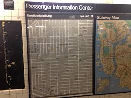Mta Map New Neighborhood Maps Appear In Subway Stations But More Are
