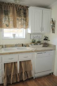 kitchen room design marvelous burlap curtains in kitchen shabby