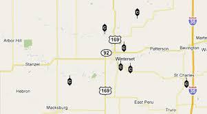 bridges of county map the bridges of county iowa