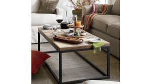 Who Makes Crate And Barrel Sofas Dixon Coffee Table Crate And Barrel