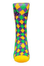 mardi gras socks the krewe mardi gras socks