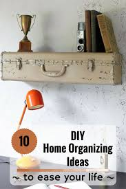 Diy Home Ideas 10 Diy Home Organizing Ideas To Ease Your Life Zoomzee Org