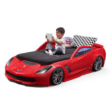 Kids Beds Corvette Z06 Toddler To Twin Bed Kids Beds Step2