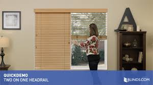 2 on 1 headrail for wood blinds quickdemo u0026raquo