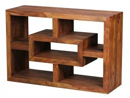 Wohnzimmer Regale Design Finebuy Bücherregal Massiv Holz Sheesham 105 X 70 Cm Wohnzimmer