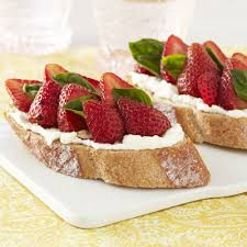 strawberry ricotta bruschetta recipe