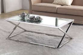 gold glass coffee table showing photos of rectangle glass chrome coffee tables view 17 of