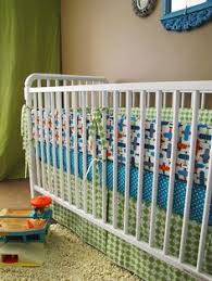 vintage airplane baby boy crib bedding set 9pc nursery