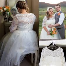 cheap plus size wedding dress half sleeves lace wedding dresses plus size