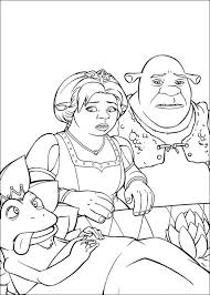 kids n fun co uk 26 coloring pages of shrek the third