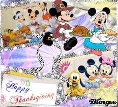 happy thanksgiving with disney picture 126879954 blingee