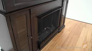 real flame lannon ventless gel fireplace in dark walnut the home