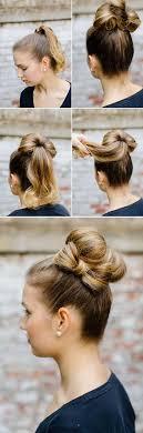 bun maker for hair walgreens 40 easy hair tutorials for long and short hair hair bow bun