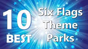 Sandusky Ohio Six Flags Top 10 Best Six Flags Theme Parks Youtube