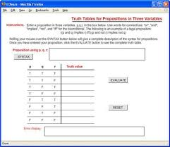 flash tools for developers truth tables and logic description