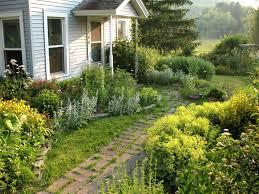 garden marvellous simple front yard ideas perennial flower bed