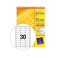 blank label templates 30 per sheet aiyin template source