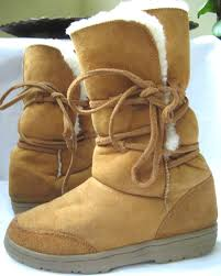 womens boots j crew closet j crew quoddy chestnut suede shearling boots womens sz 9