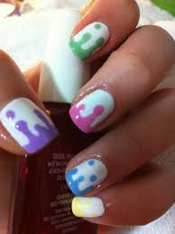 cute nail polish designs to do at home 27 lazy nail art ideas