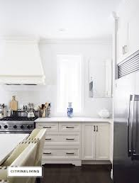 No Upper Kitchen Cabinets Updating The Kitchen With Open Built In Shelving