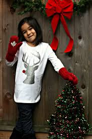 diy hipster rudolph shirt made on cricut explore hello creative