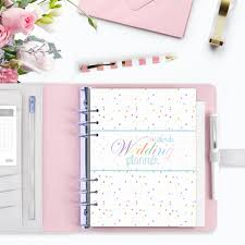 wedding planner notebook wedding planner ultimate printable wedding organizer