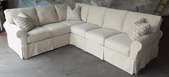 Slipcovered Sectional Sofas Awesome Slipcovers For Sectional Couches Homesfeed Slipcover For