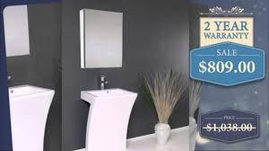 Pedestal Sink Sale Modern Pedestal Sink Youtube