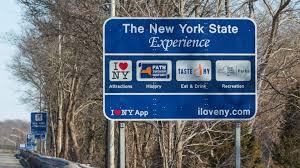 ny tourism bureau i ny tourism signs cost 6 million more says dot newsday