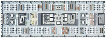 Open Office Floor Plans by Office Timpuri Noi Square