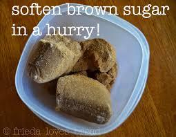 frieda loves bread kitchen tip soften brown sugar in a hurry