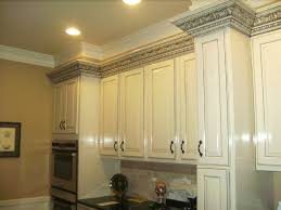 Kitchen Cabinet Crown by White Custom Kitchen Cabinets With Black Gray Charcoal Glazed