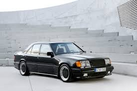 Modified A Class Mercedes The Release Of The Amg Hammer Sedan In 1986 Based On The W124 E
