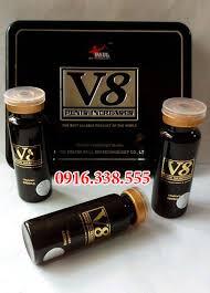 thuốc cường dương v8 6800mg dạng viagra thảo dược tăng cường sinh