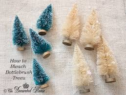 the decorated house how to bottle brush trees for