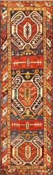 antique caucasian lankoran runner rug 48929 nazmiyal