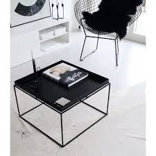 Hay Side Table Hay Tray Coffee Table Bllack 60x60 Cm