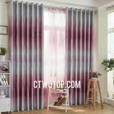 Purple Ombre Curtains Custom Made Ombre Tree Fuchsia Printed Blackout Curtains